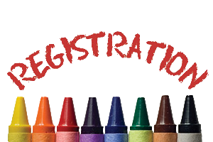 school registration crayon image